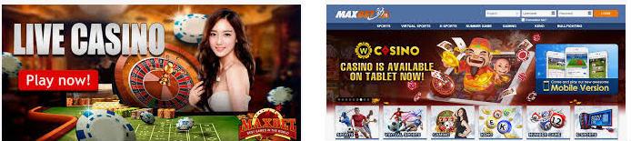 live bursa casino maxbet online