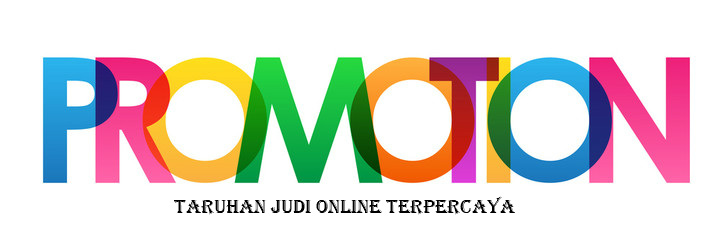 promotion judi online terpercaya