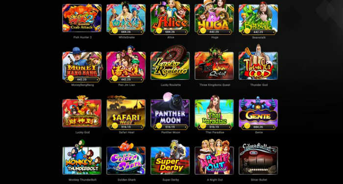 slot gaming dan e-games online